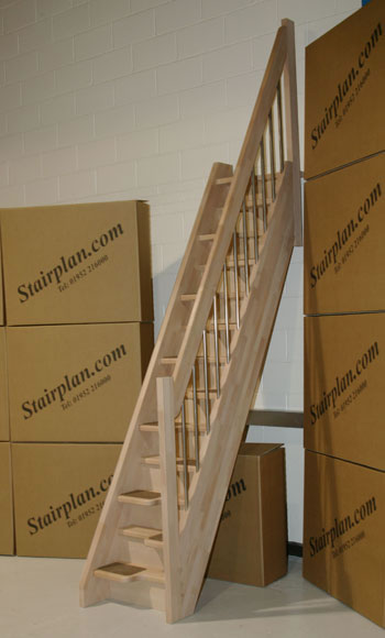 SpaceSaving Loft Stairs 350 x 580