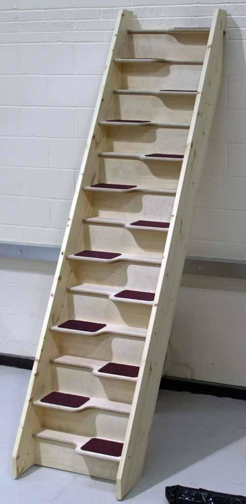 Alternating Tread Staircases Birch24spacesaver