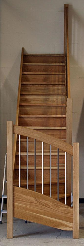 Stairplans European Style Handrail Oakeuropeanjpg