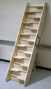 Awesome Birch 24 Space Saving Staircase
