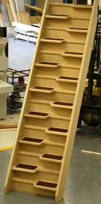 Awesome Ash 40 Spacesaver Staircase, Oak 40 Space Saving Staircase ...