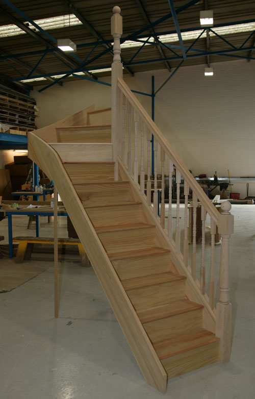 Winder Staircases Parana Pine Turned Jpg