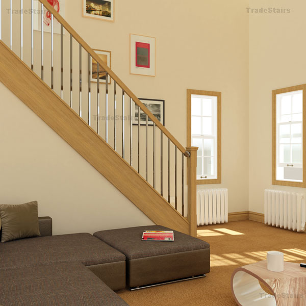 the new axxys squared stair railing system