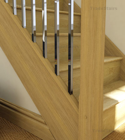 Axxys2 Parts Stairs Axxys Stair Spindles Squared Metal Stair Modern ...